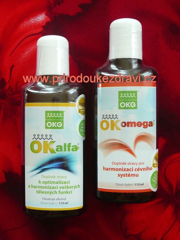 OK Alfa plus 115 ml + OK Omega plus 115 ml
