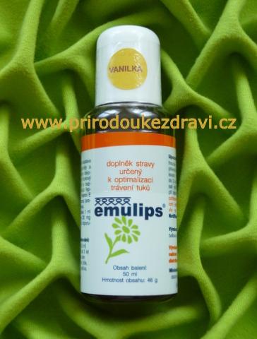 OKG Emulips vanilka 50 ml
