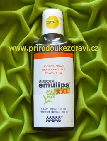Emulips XXL citron 115 ml