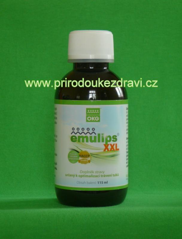 OKG Emulips XXL 115 ml (Žlučník, trávicí trakt)