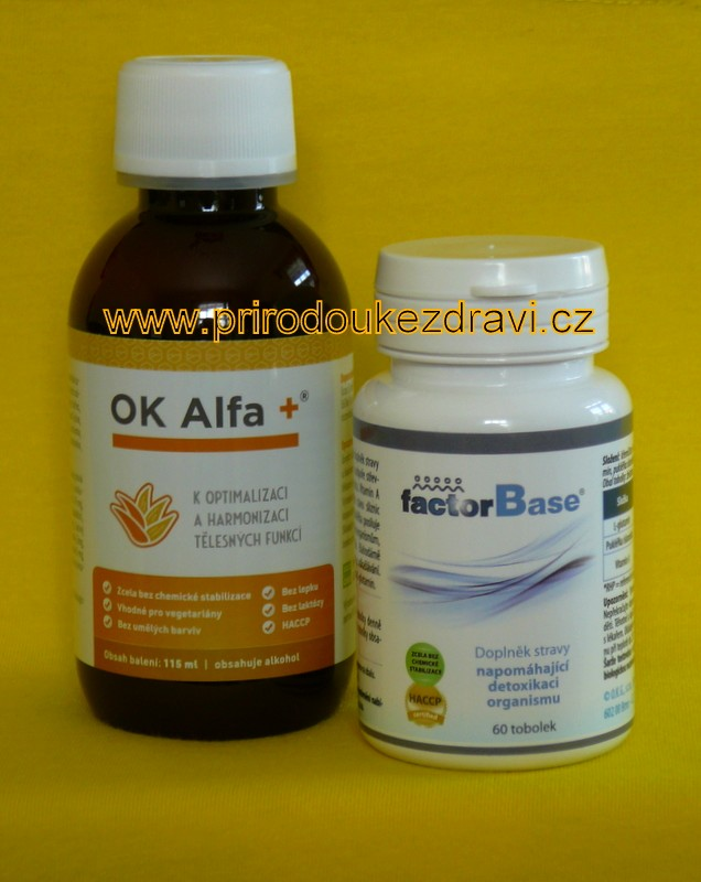 OK Alfa plus 115 ml + OKG Factor Base 60 ks