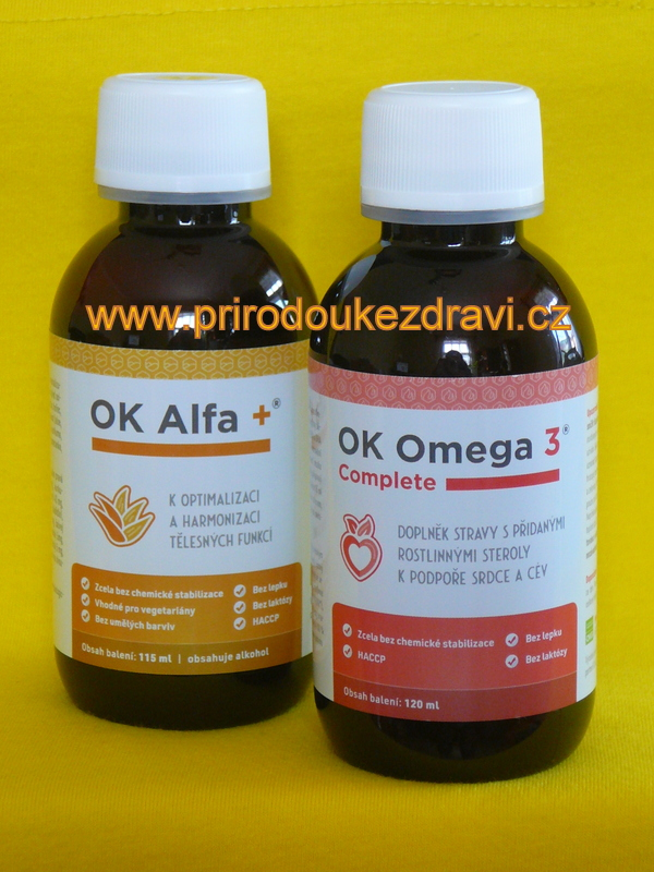 OK Alfa plus 115 ml + OK Omega-3 Complete 120 ml