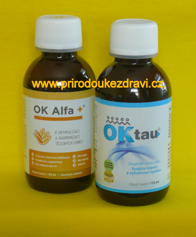 OK Alfa plus 115 ml + OK Tau plus 115 ml