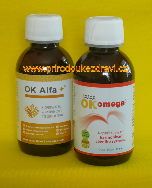 OK Alfa plus 115 ml + OK Omega plus 115 ml