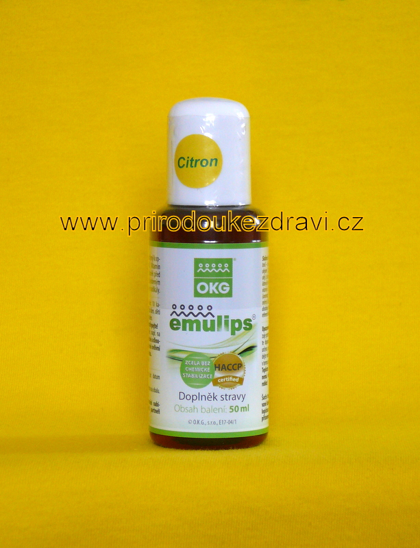 OKG Emulips citron 50 ml