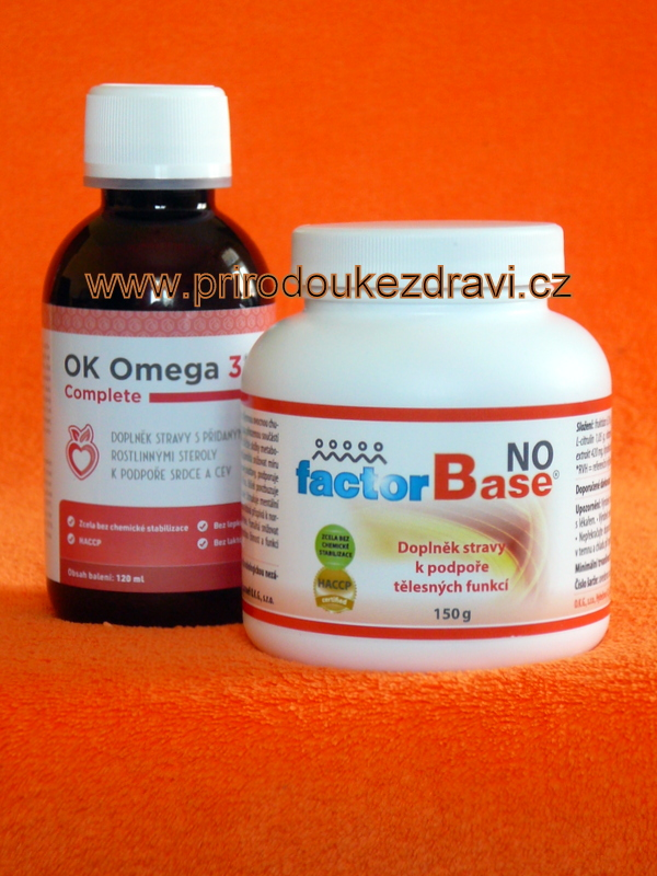 OK Omega-3 Complete 120 ml + Factor Base NO 150 g